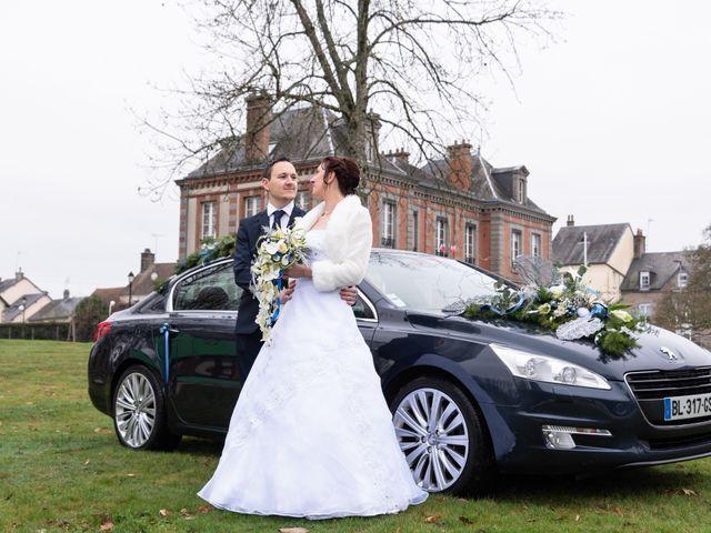 Le mariage de Samuel et Laëtitia à Saint-André-de-Messei, Orne 2