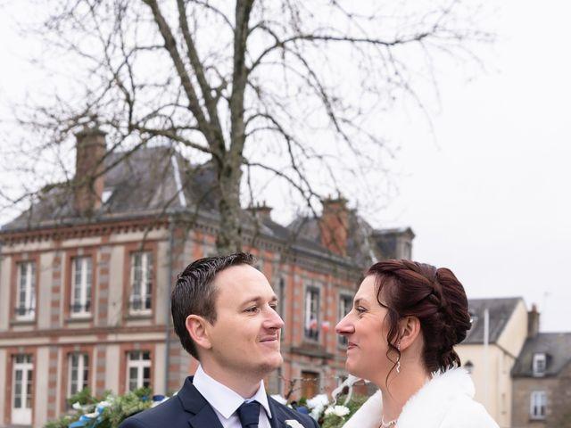 Le mariage de Samuel et Laëtitia à Saint-André-de-Messei, Orne 9