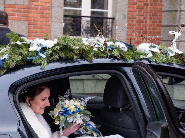 Le mariage de Samuel et Laëtitia à Saint-André-de-Messei, Orne 16