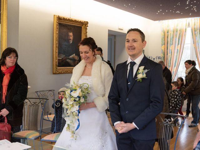 Le mariage de Samuel et Laëtitia à Saint-André-de-Messei, Orne 18