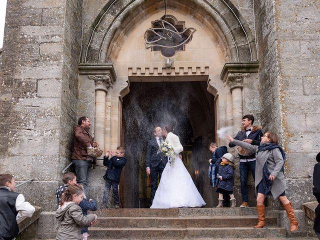 Le mariage de Samuel et Laëtitia à Saint-André-de-Messei, Orne 34