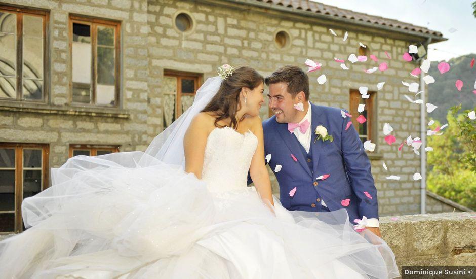 Le mariage de Maxime et Séverine à Ajaccio, Corse