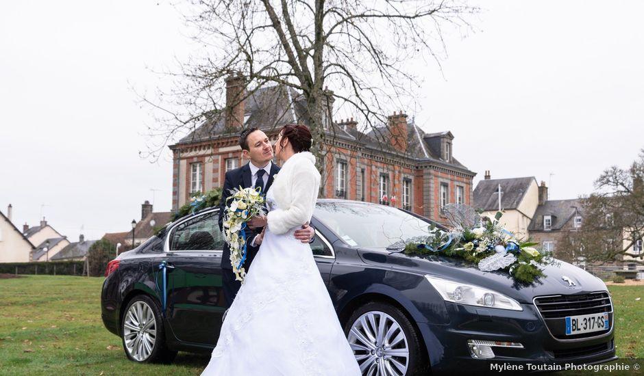 Le mariage de Samuel et Laëtitia à Saint-André-de-Messei, Orne