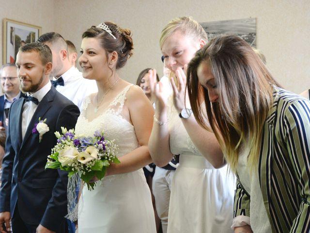 Le mariage de Nicolas et Elodie à Nitry, Yonne 7