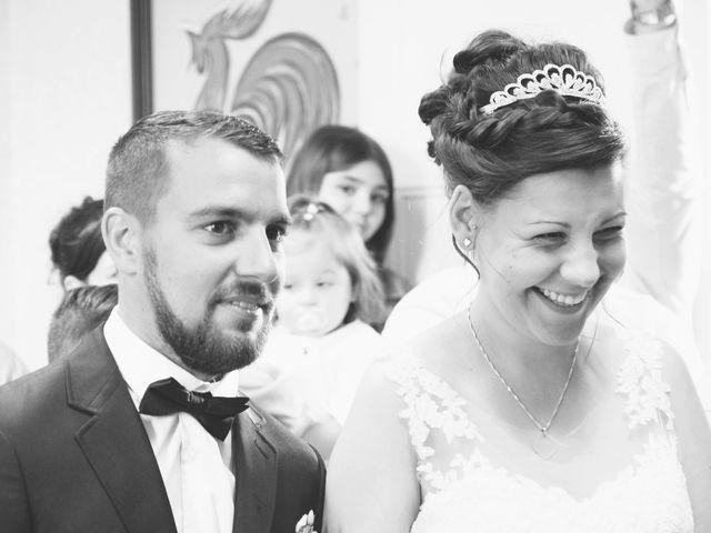 Le mariage de Nicolas et Elodie à Nitry, Yonne 9