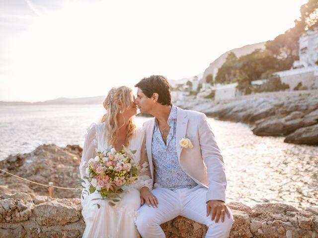 Le mariage de Enguerran et Sandra à Cap-d'Ail, Alpes-Maritimes 12