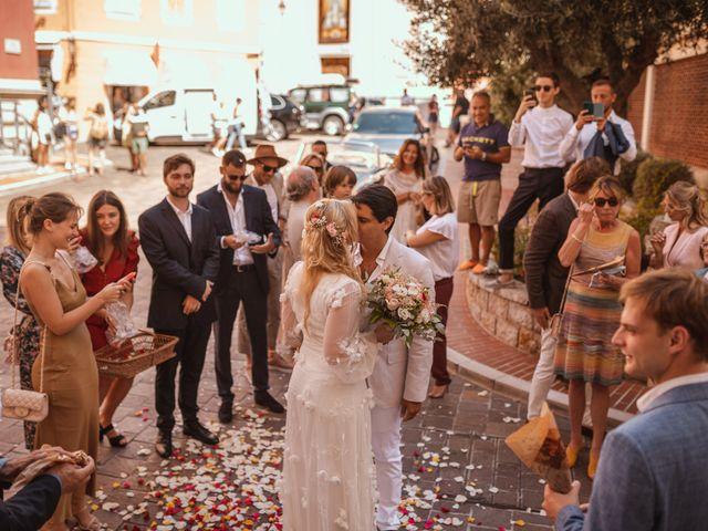 Le mariage de Enguerran et Sandra à Cap-d'Ail, Alpes-Maritimes 32