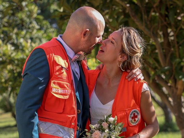 Le mariage de Laurent et Sandrine à Beaucaire, Gard 236