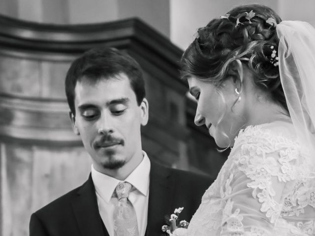 Le mariage de François et Elodie à Saint-Romain-en-Jarez, Loire 5