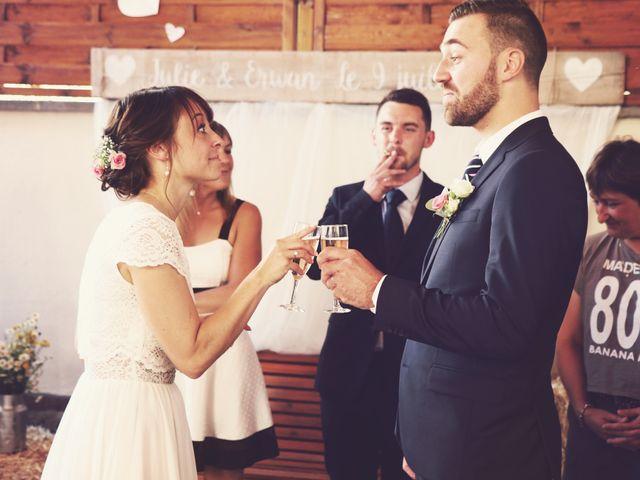 Le mariage de Erwan et Julie à Heiligenberg, Bas Rhin 11