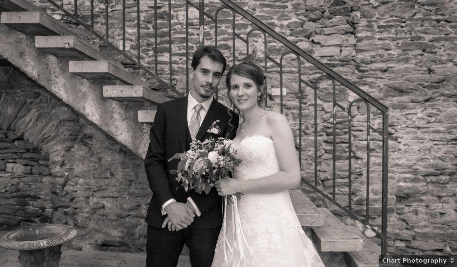 Le mariage de François et Elodie à Saint-Romain-en-Jarez, Loire