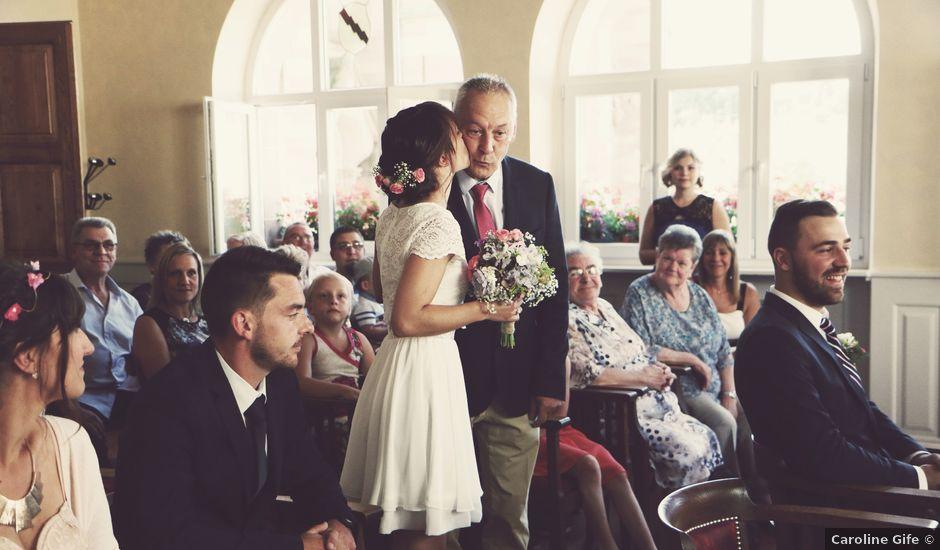 Le mariage de Erwan et Julie à Heiligenberg, Bas Rhin