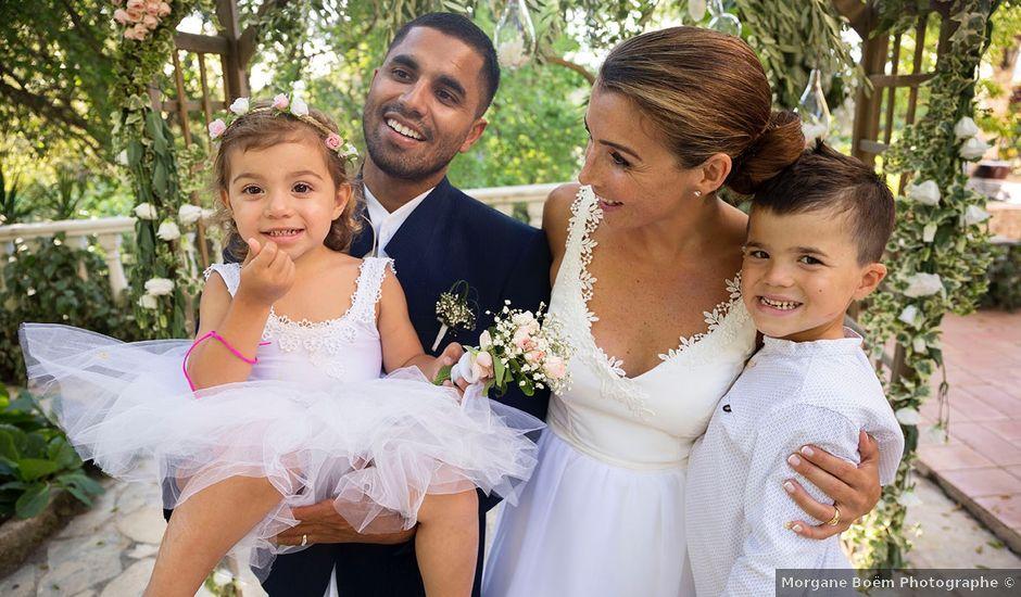 Le mariage de Karim et Fanny à Mougins, Alpes-Maritimes