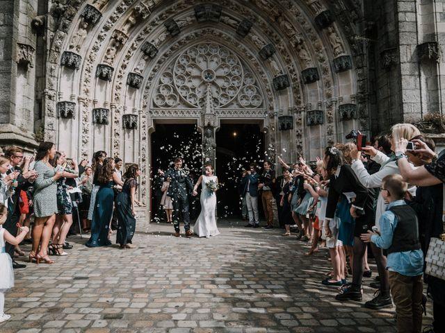 Le mariage de Yoann et Nolwenn à Quimper, Finistère 43