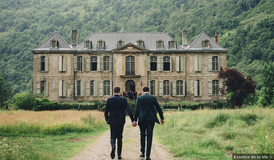 Le mariage de Carl et Dan à Les Cabannes, Ariège