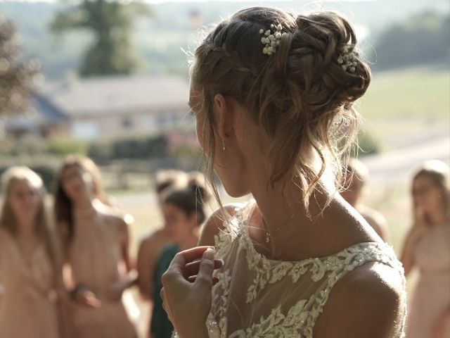 Le mariage de Anthony et Camille à Payzac, Dordogne 44