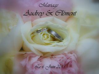 Le mariage de Audrey et Clément
