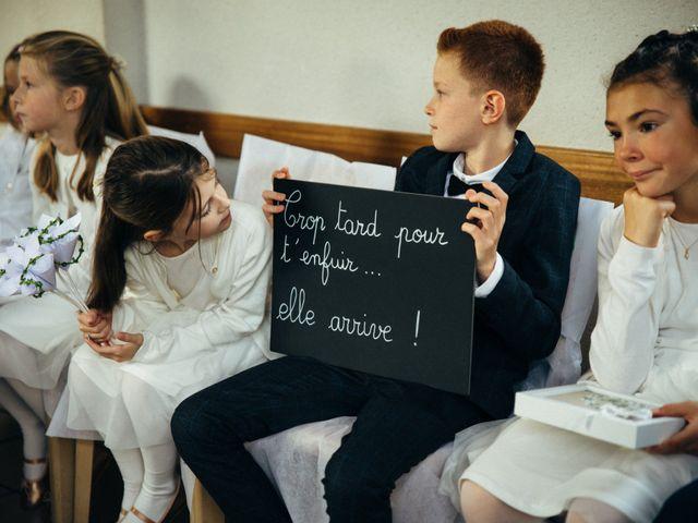 Le mariage de Benjamin et Marie à La Villeneuve-en-Chevrie, Yvelines 8
