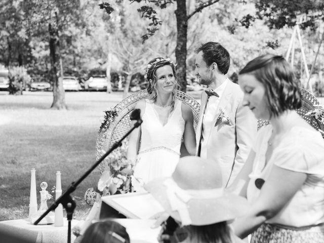 Le mariage de Arthur et Hortense à Biscarrosse, Landes 1
