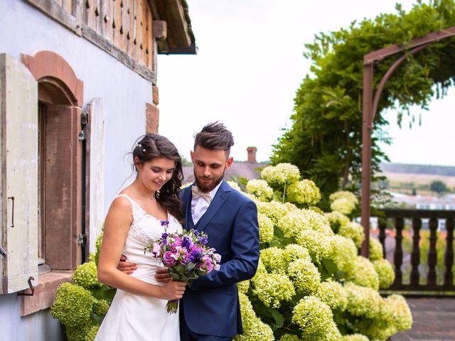 Le mariage de Nathan et Manon à Mertzwiller, Bas Rhin 10