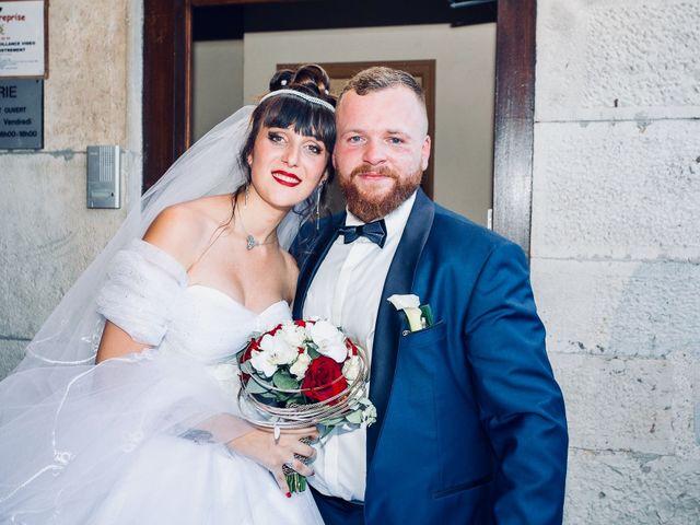 Le mariage de Kévin et jessica à Marchaux, Doubs 2