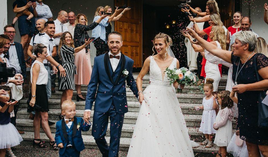 Le mariage de Samuel et Emilie à Staffelfelden, Haut Rhin