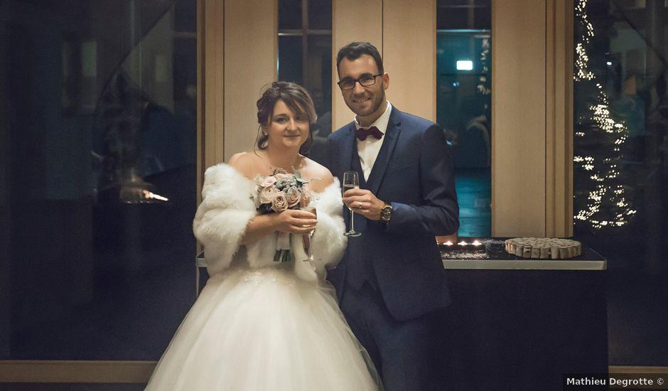 Le mariage de Jérôme et Jennifer à Kanfen, Moselle