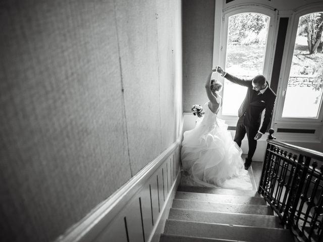 Le mariage de Aurélien et Camille à Villebois, Ain 16