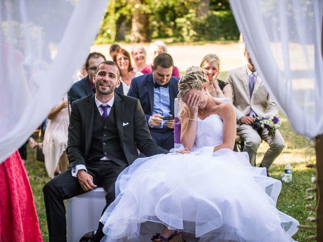 Le mariage de Aurélien et Camille à Villebois, Ain 41