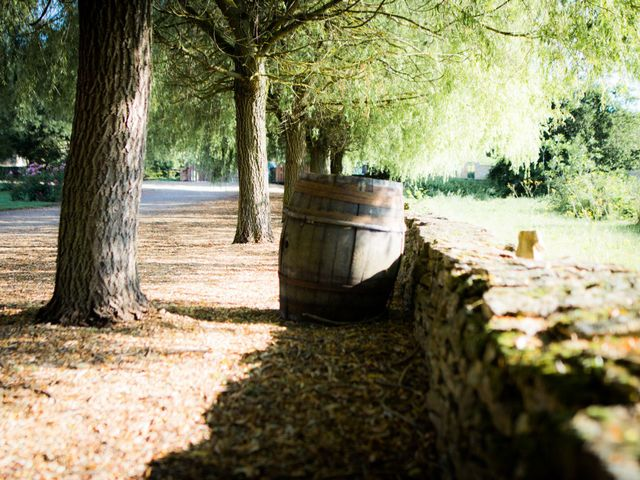 Le mariage de Johan et Aurélie à Lacenas, Rhône 1