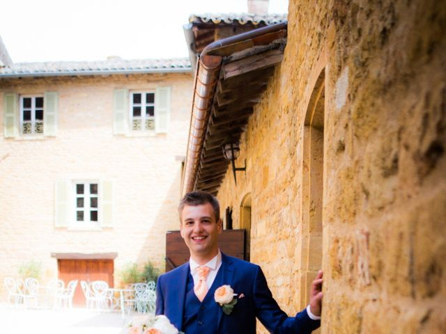Le mariage de Johan et Aurélie à Lacenas, Rhône 9