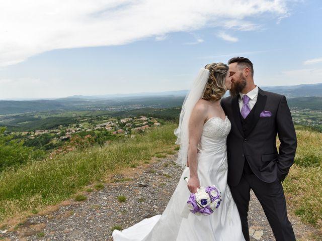 Le mariage de Bastien et Sandra à Villeneuve-de-Berg, Ardèche 1