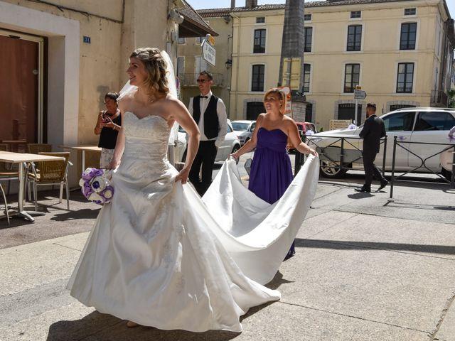 Le mariage de Bastien et Sandra à Villeneuve-de-Berg, Ardèche 2
