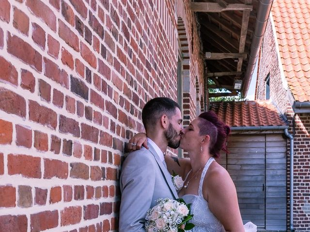 Le mariage de Gaetan et Gwendoline à Steenvoorde, Nord 14