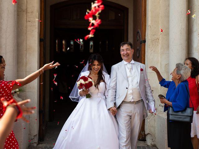Le mariage de Lilian et Irina à Fabrègues, Hérault 16