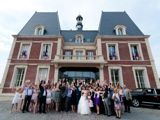 Le mariage de Jérémie et Ti-Na à Noisy-le-Grand, Seine-Saint-Denis 16