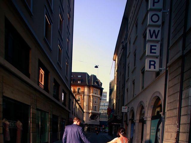Le mariage de David et Mélissa à Genève, Genève 20