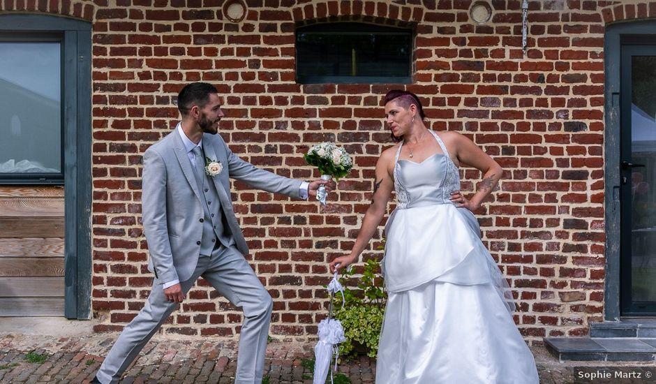 Le mariage de Gaetan et Gwendoline à Steenvoorde, Nord