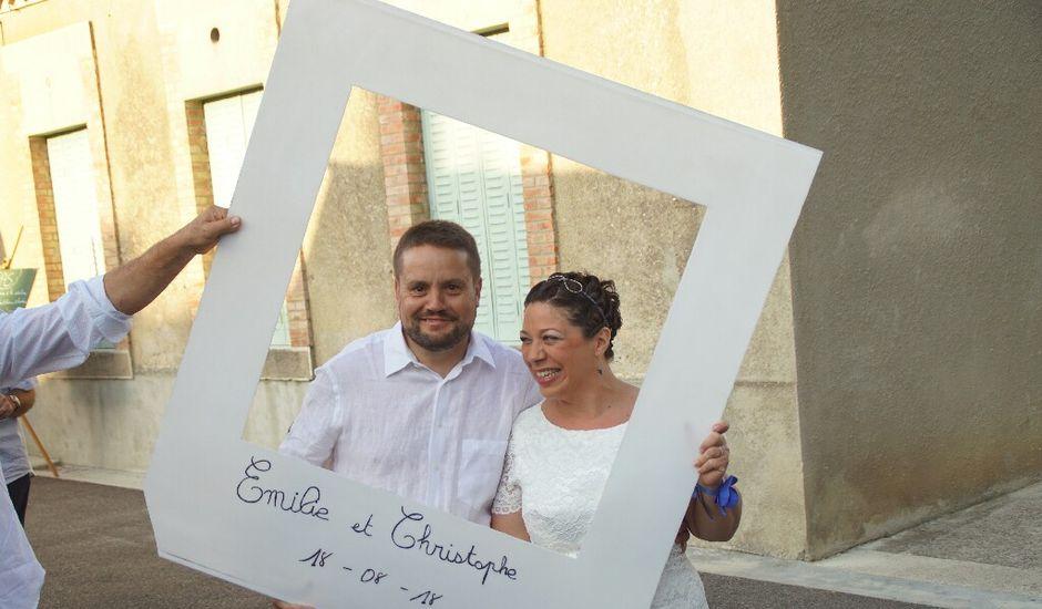 Le mariage de Christophe et Émilie  à Magrie, Aude