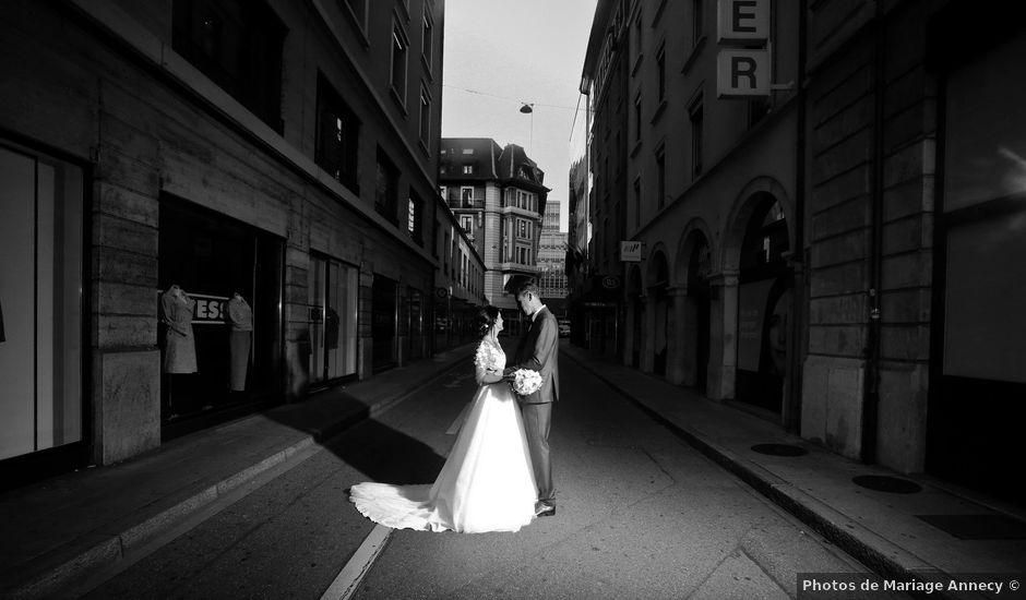 Le mariage de David et Mélissa à Genève, Genève
