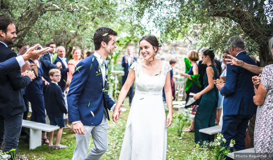 Le mariage de Aymeric et Alice à Saulce-sur-Rhône, Drôme