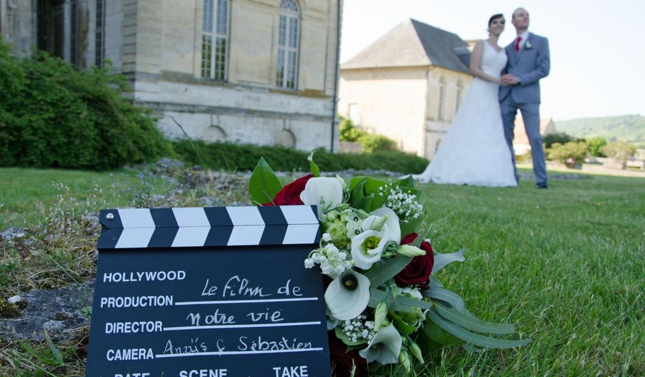 Le mariage de Sébastien et Anaïs à Saint-Martin-de-Boscherville, Seine-Maritime