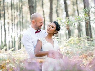 Le mariage de Meena et David