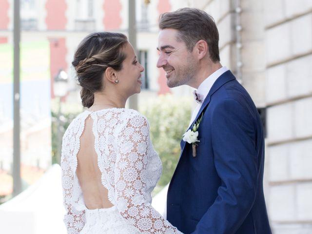 Le mariage de Nicolas et Vanessa à Paris, Paris 19