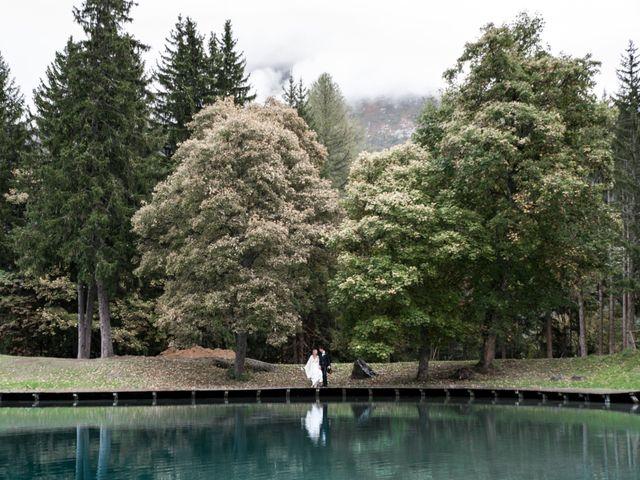 Le mariage de Florent et Mathilde à Les Contamines-Montjoie, Haute-Savoie 28