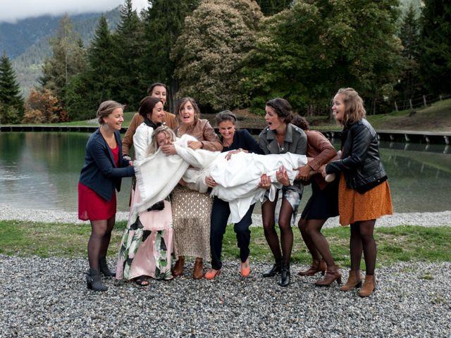Le mariage de Florent et Mathilde à Les Contamines-Montjoie, Haute-Savoie 33