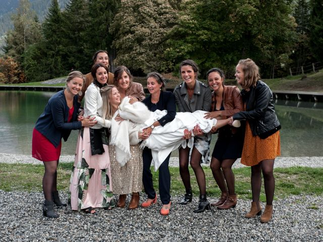 Le mariage de Florent et Mathilde à Les Contamines-Montjoie, Haute-Savoie 34