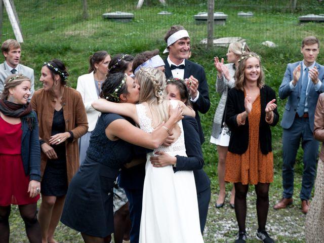 Le mariage de Florent et Mathilde à Les Contamines-Montjoie, Haute-Savoie 53