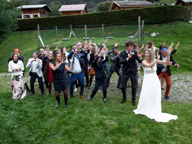 Le mariage de Florent et Mathilde à Les Contamines-Montjoie, Haute-Savoie 54