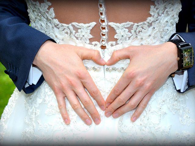 Le mariage de Leslie et Jona à Houdan, Yvelines 12
